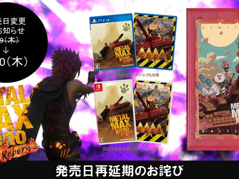 Metal Max Xeno renaît retardé de deux mois au Japon jusqu'au 10 septembre 2020