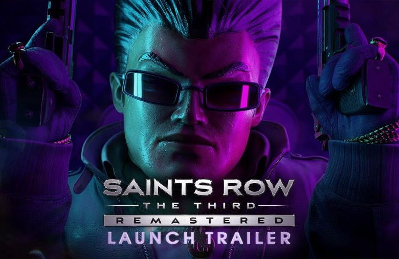 Saints Row: The Third Remastered obtient une bande-annonce de lancement