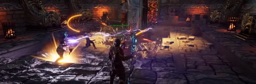 Ashes of Creation montre un gameplay alpha, prend position contre les compteurs DPS