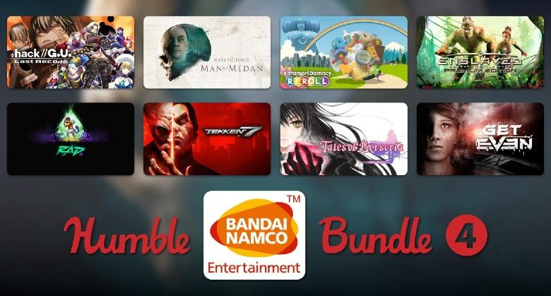 Humble Bandai Namco Bundle 4 disponible maintenant