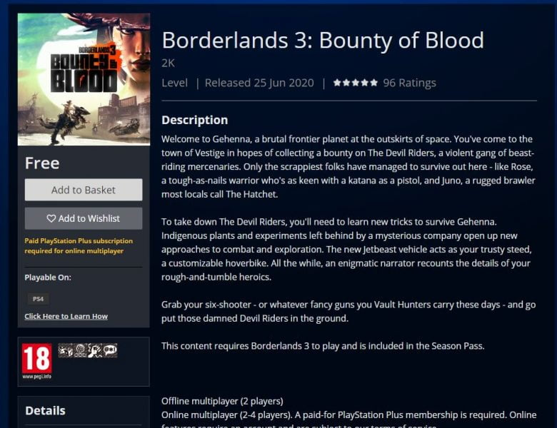 Borderlands 3: Comment démarrer le DLC Bounty of Blood – Correction d'un bug PS4