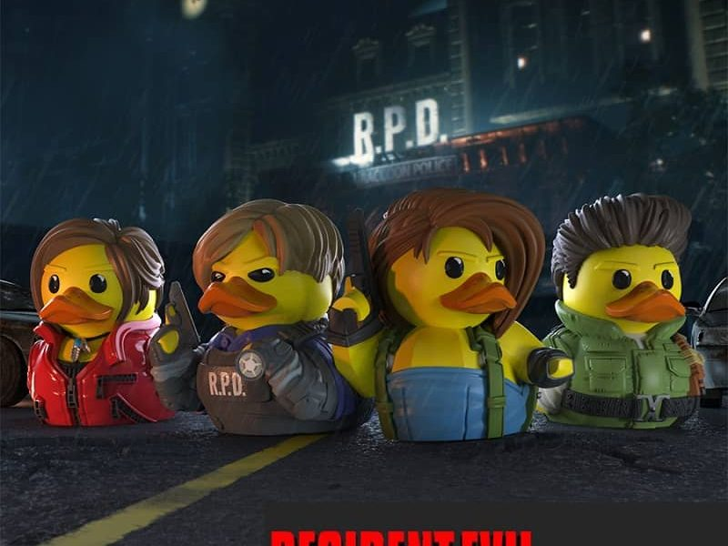 TUBBZ Resident Evil Cosplaying Ducks Collectible Review – Pixelated Gamer