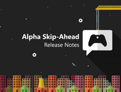 Notes de mise à jour Xbox Insider – Alpha Skip-Ahead (2010.200811-0000)