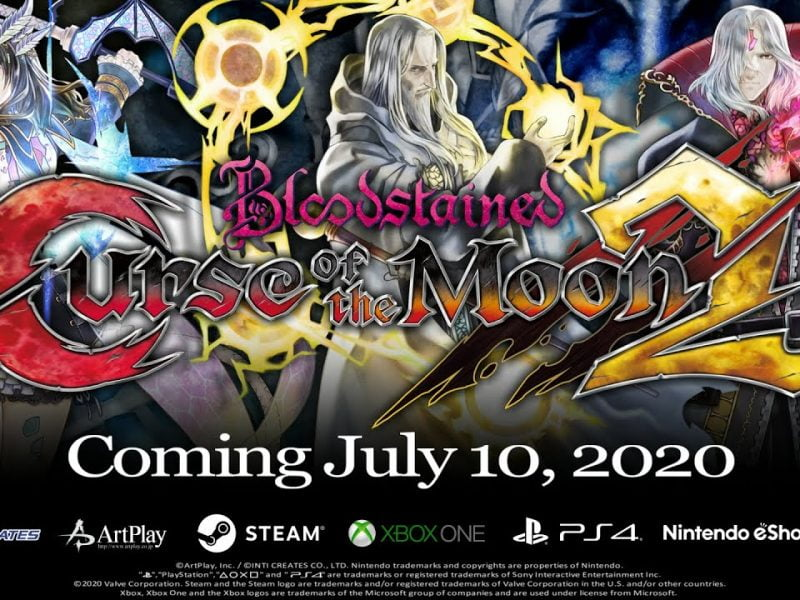 Curse of the Moon 2 le 10 juillet 2020