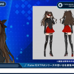 FateExtra Record Stream Design des personnages Wada Aruko Rin Tohsaka