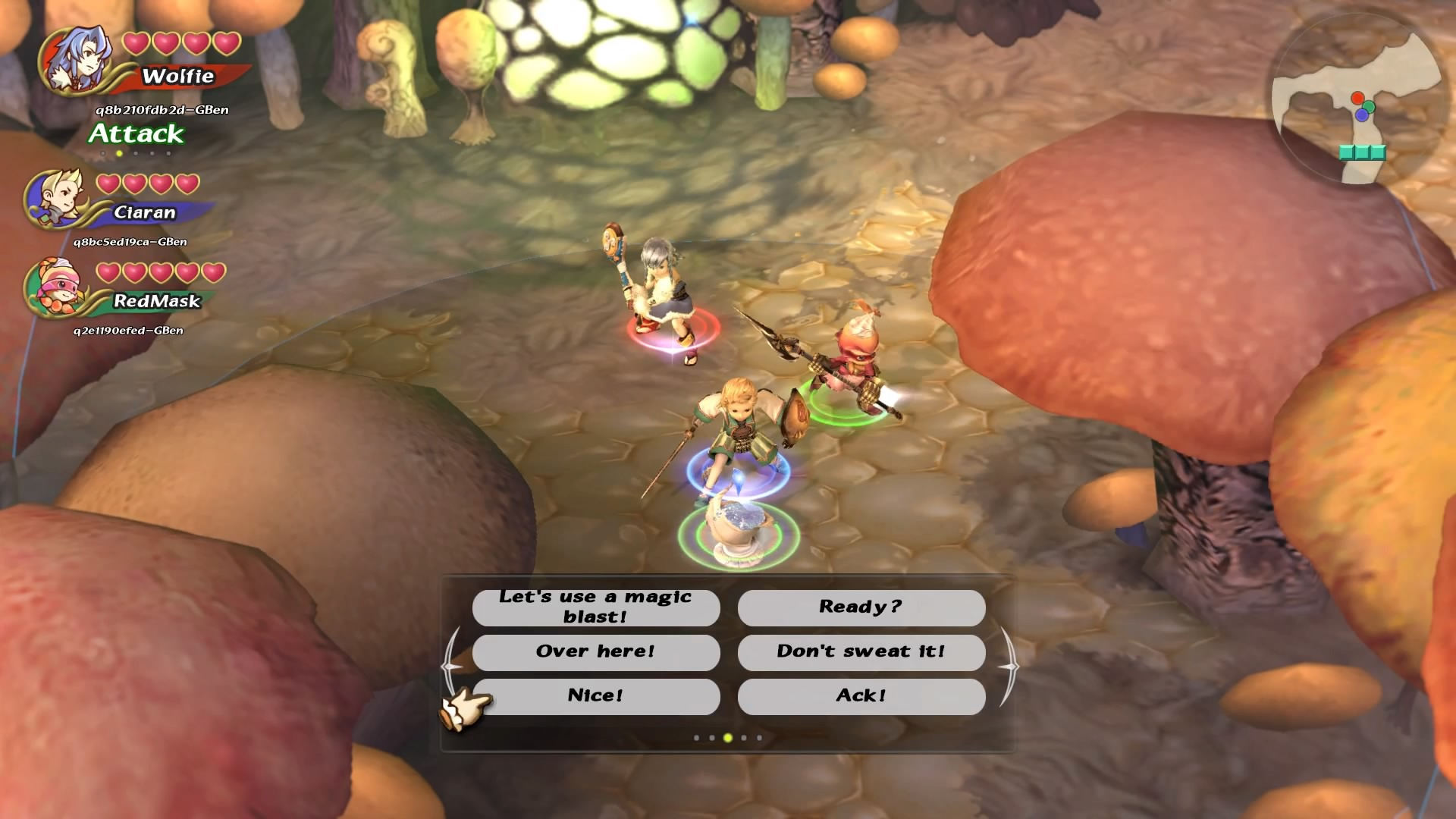 Gameplay remasterisé de Final Fantasy Crystal Chronicles
