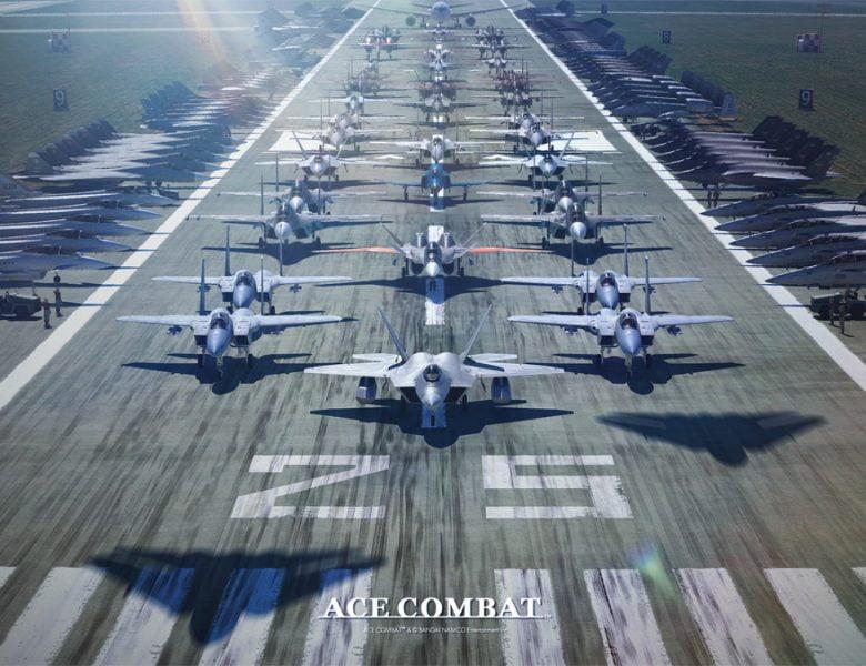Célébration du 25e anniversaire de la série Ace Combat avec un message spécial