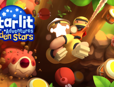Starlit Adventures Golden Stars (Nintendo Switch)