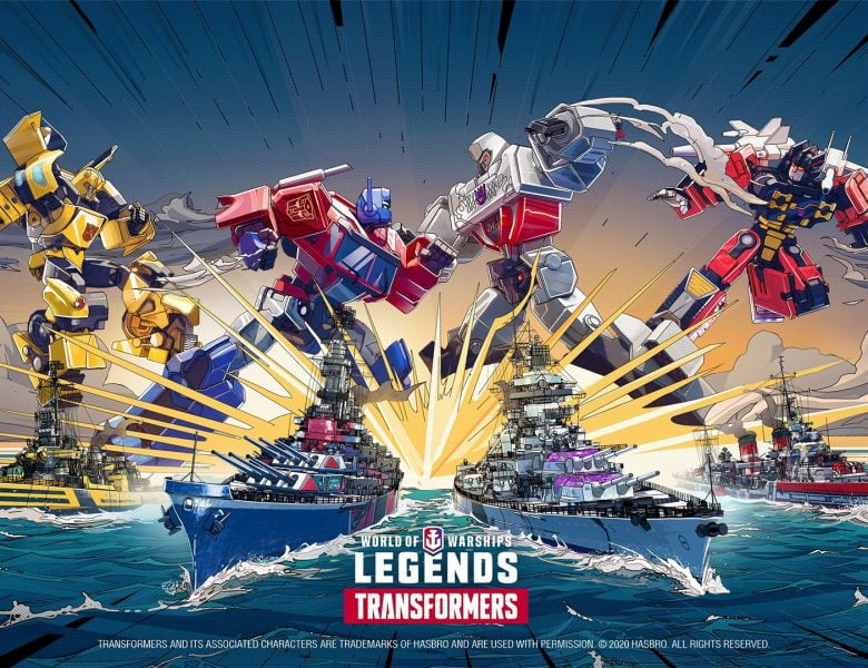Les transformateurs sont prêts pour la bataille dans World of Warships: Legends