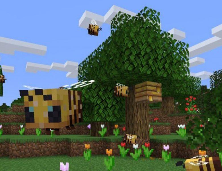 Abeilles Minecraft: comment trouver des abeilles et récolter du miel