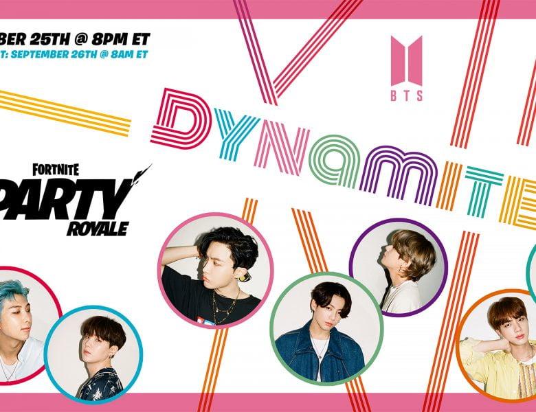 Light It Up Like Dynamite: BTS arrive à Party Royale le 25 septembre