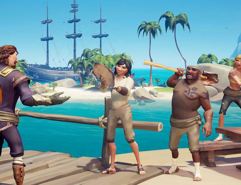 Faites votre choix de Sea of Thieves Parlez comme un pirate Day Treats