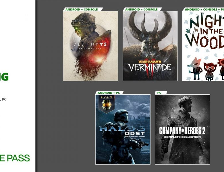 Bientôt sur Xbox Game Pass: Cloud Gaming, Destiny 2, Night in the Woods, Company of Heroes 2 et plus