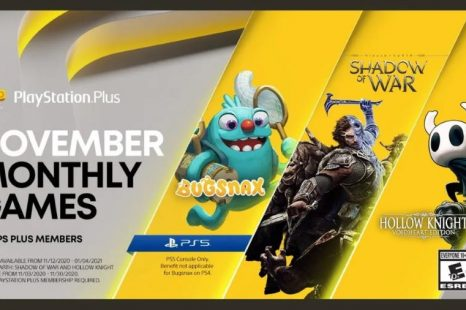 Bugsnax, Middle-earth: Shadow of War et Hollow Knight: Voidheart Edition arrive sur PlayStation Plus en novembre 2020