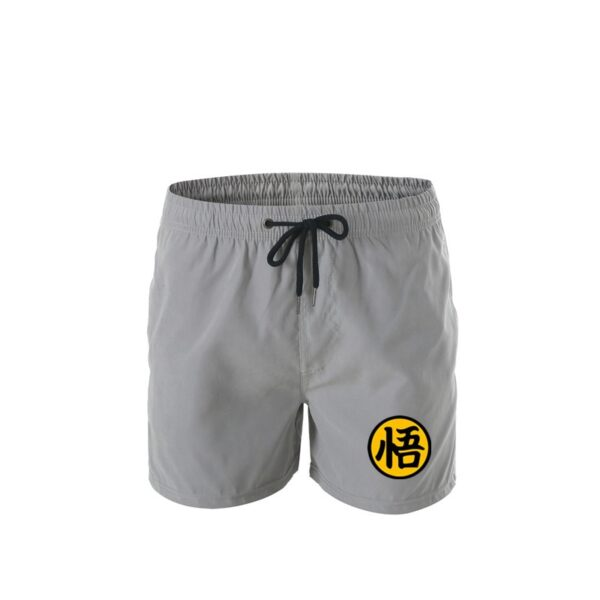 Short de bain Dragon Ball gris