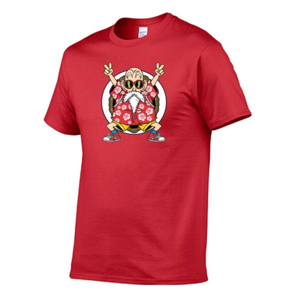 T-shirt Tortue Géniale rouge