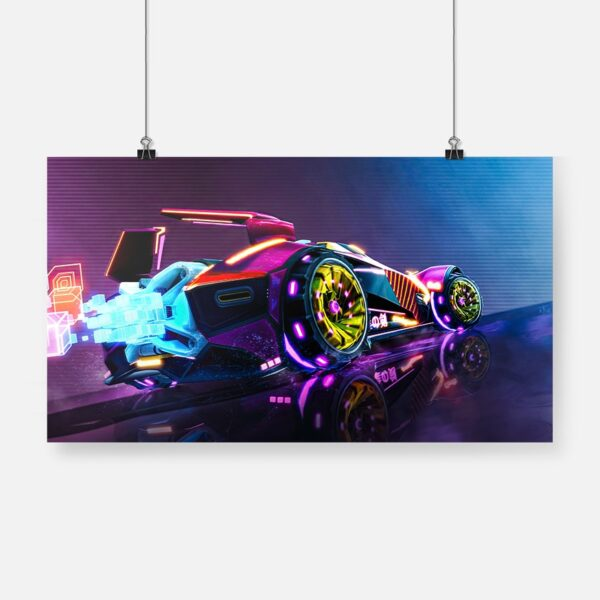 Affiche Murale Rocket League