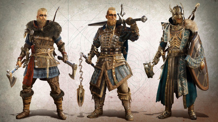 Ensembles d'armures de microtransactions Assassin's Creed Valhalla