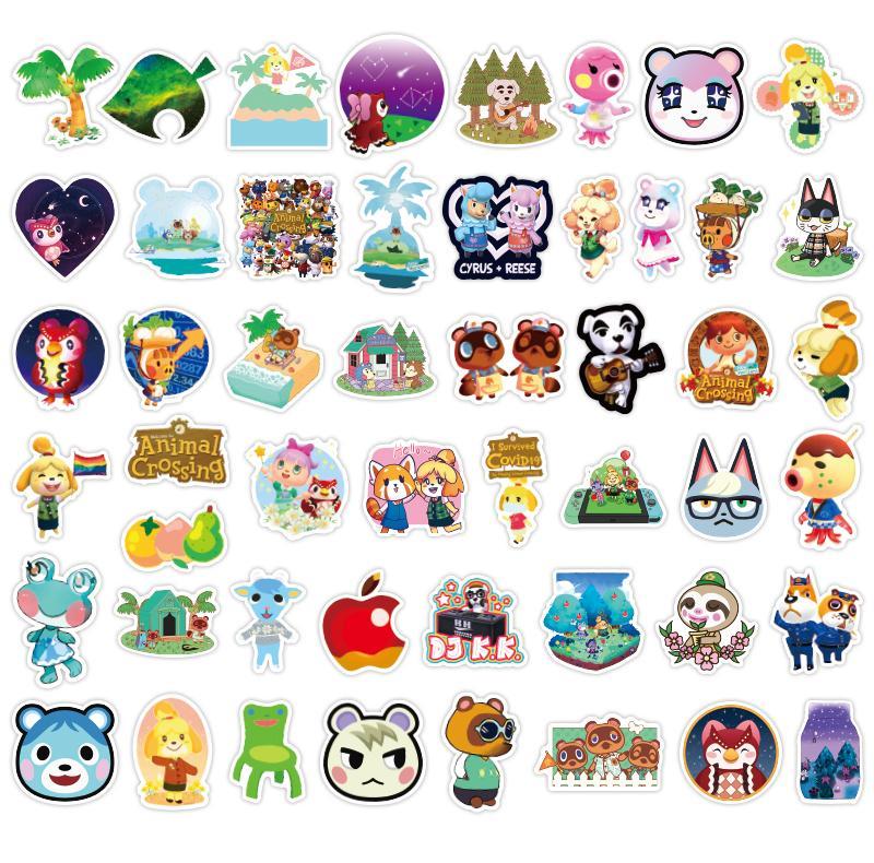Autocollants amiibo Animal Crossing