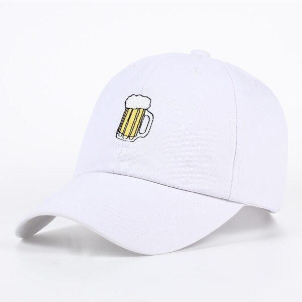 Casquette Les Simpson bière blanche