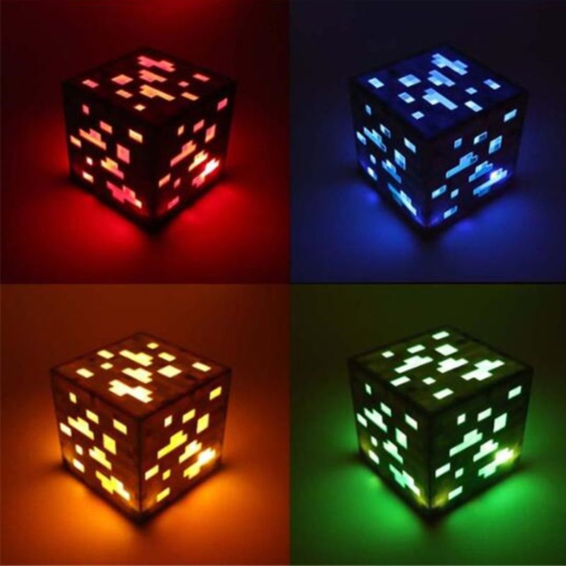 Lampes cube Minecraft