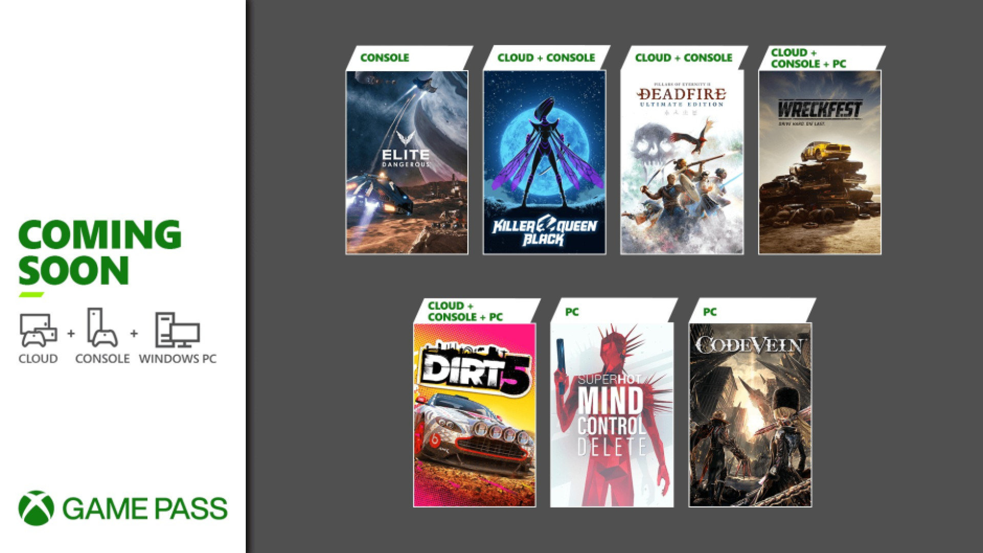 Xbox Game Pass - Février - Wave 2