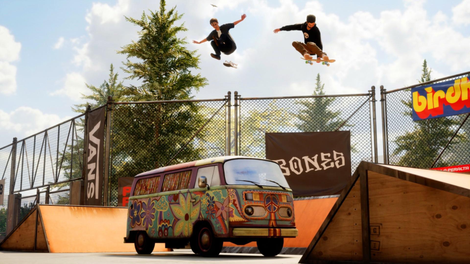 Tony Hawk's Pro Skater 1 et 2: ensemble de luxe inter-génération