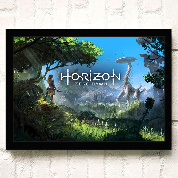 Affiche Murale Horizon Zero Dawn Grand Monstre