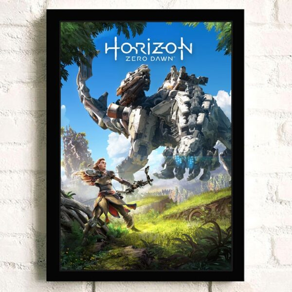 Affiche Murale Horizon Zero Dawn Monstre