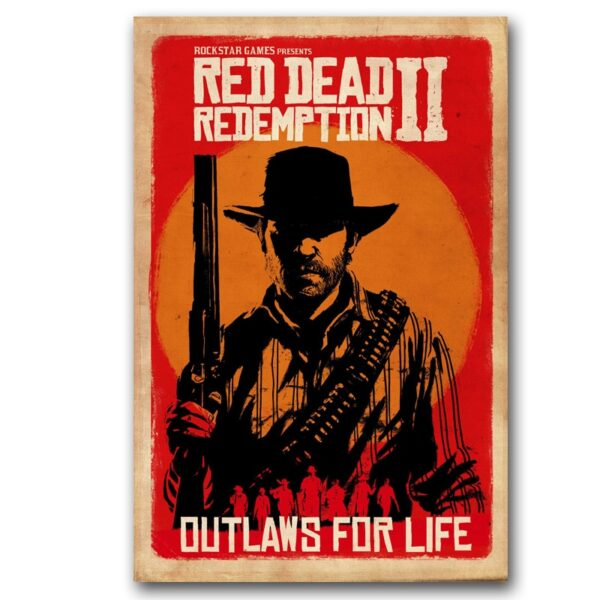 Affiche RDR Outlaws