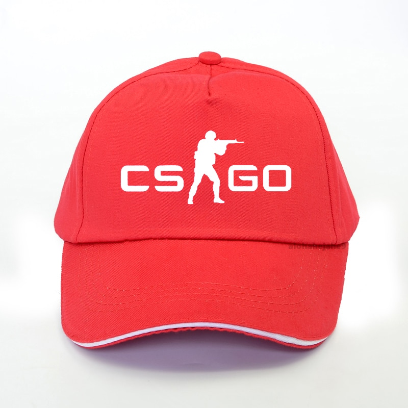 Casquette Counter Strike Rouge