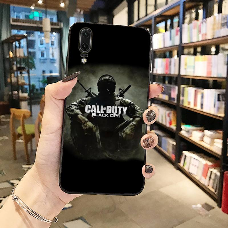 Coque Call of Duty Black Ops pour Huawei