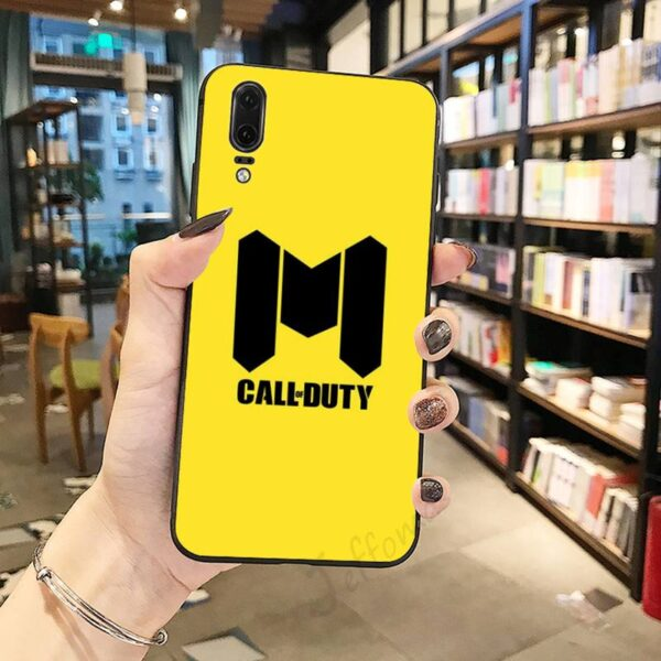 Coque Jaune Call of Duty Huawei
