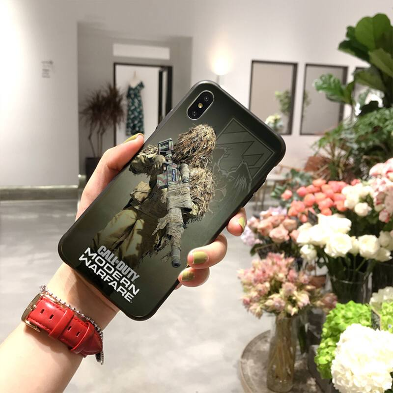 Coque iPhone Call of duty camouflage