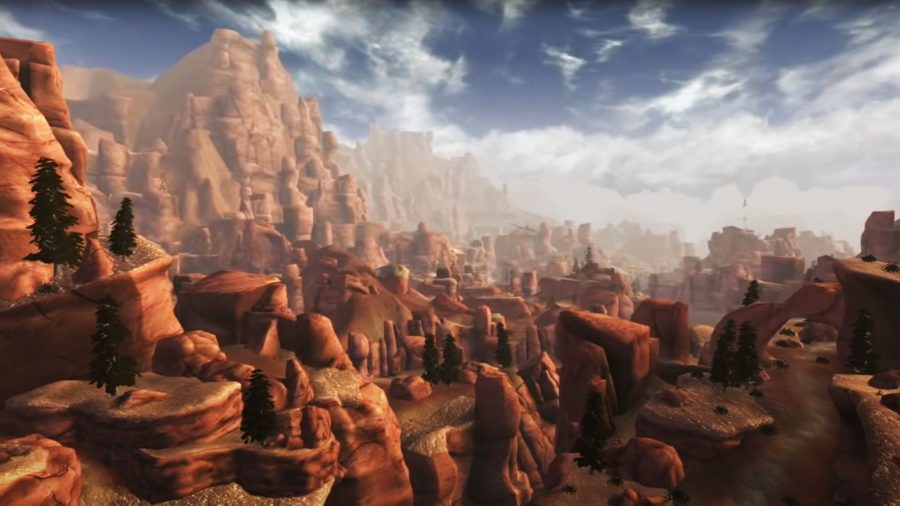 Utah et le parc national du Grand Zion dans Fallout New Vegas 'Honest Hearts DLC
