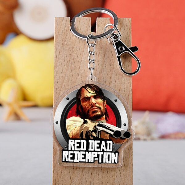 Porte clé plastifié red dead redemption