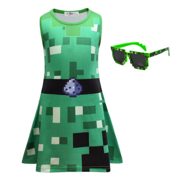 Robe Minecraft Style Creeper