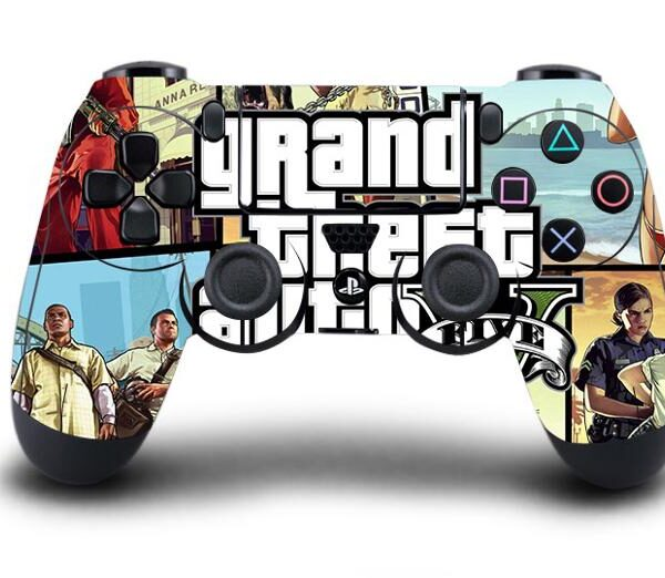 Sticker PS4 Manette GTA