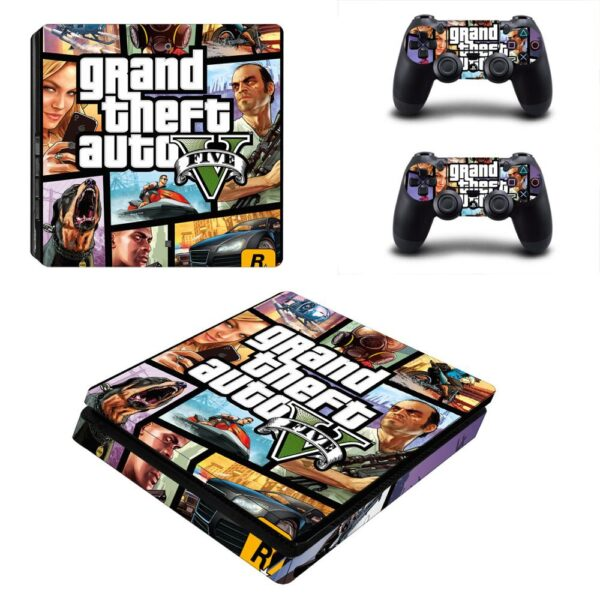 Stickers PS4 GTA 5 Logo