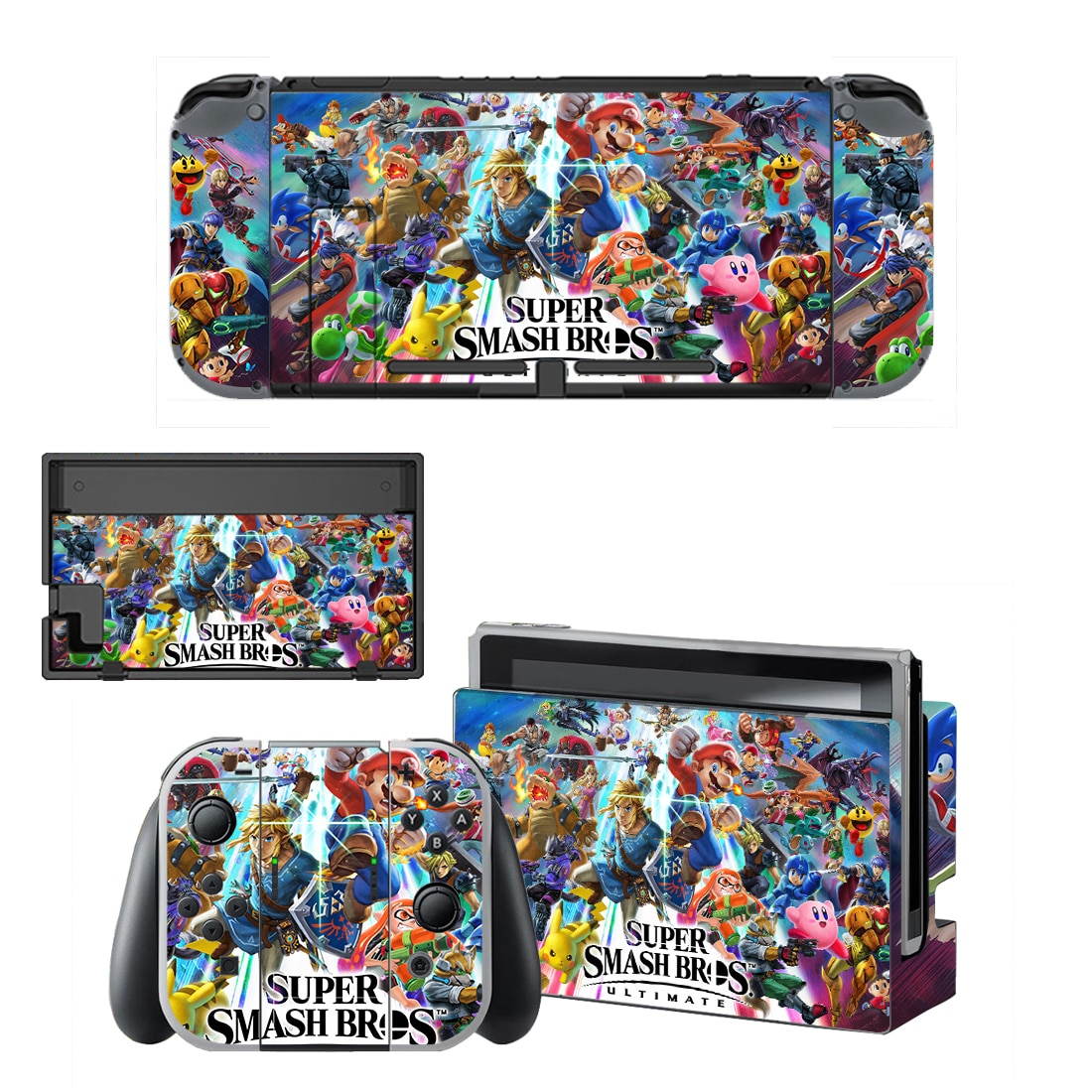 Stickers Switch Super Smash Bros Officiel