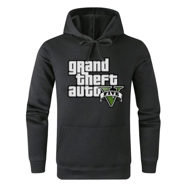 Sweat à capuche GTA Noir