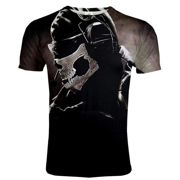 Tshirt tête de mort call of duty