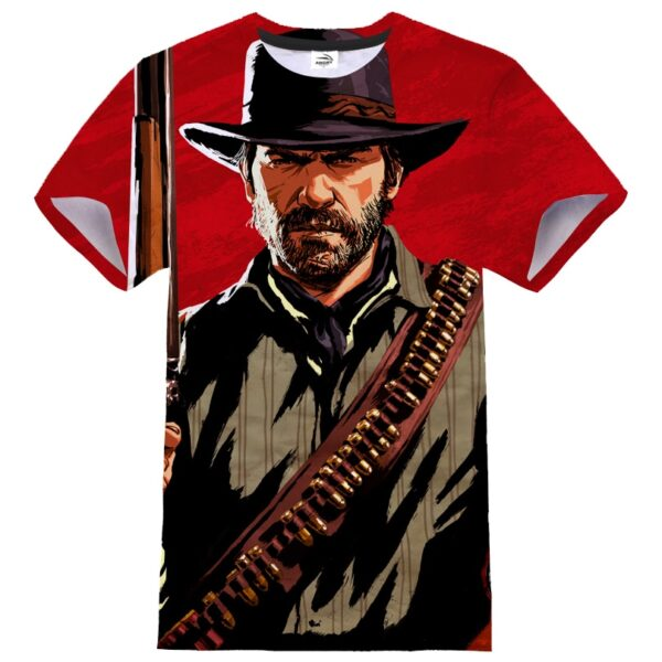 Tshirt imprimé red dead redemption 2 arthur morgan