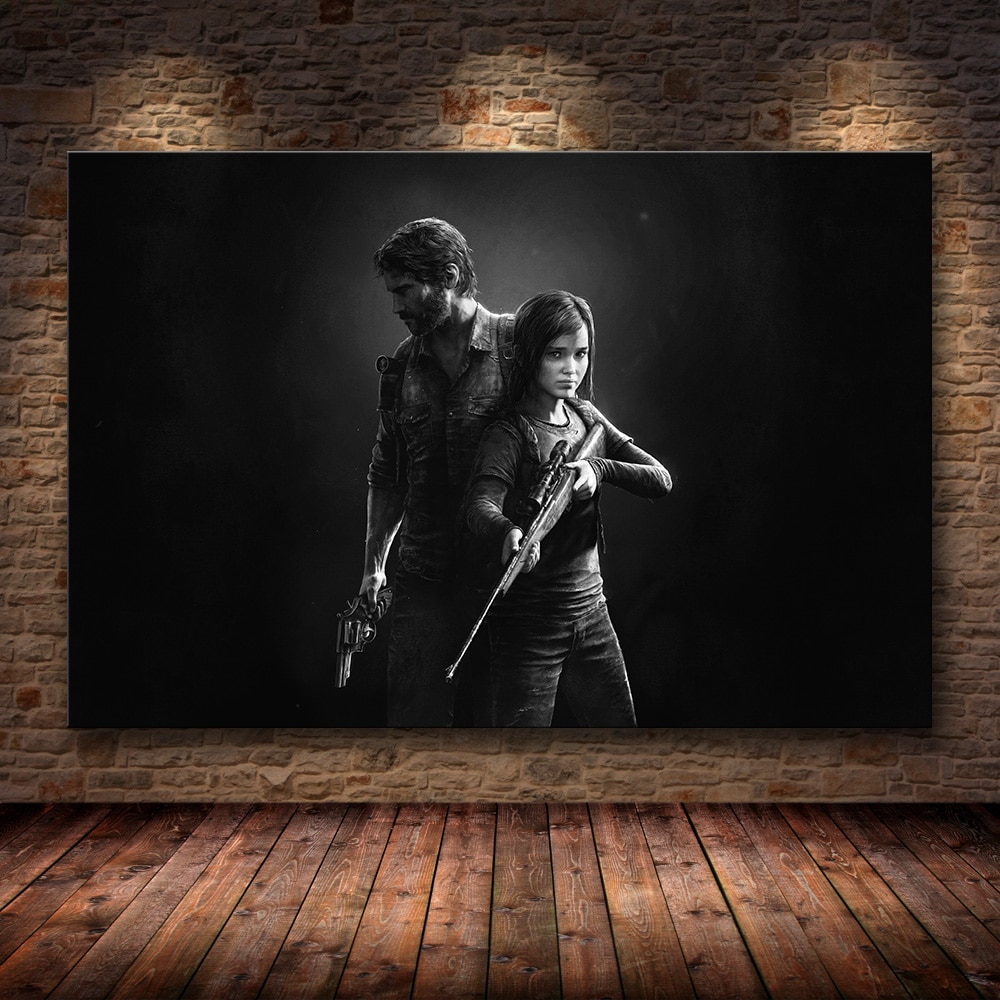 affiche murale the last of us