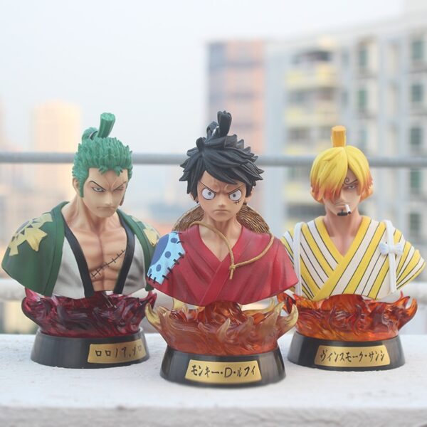 Figurine Luffy, Zoro et Sanji de One Piece