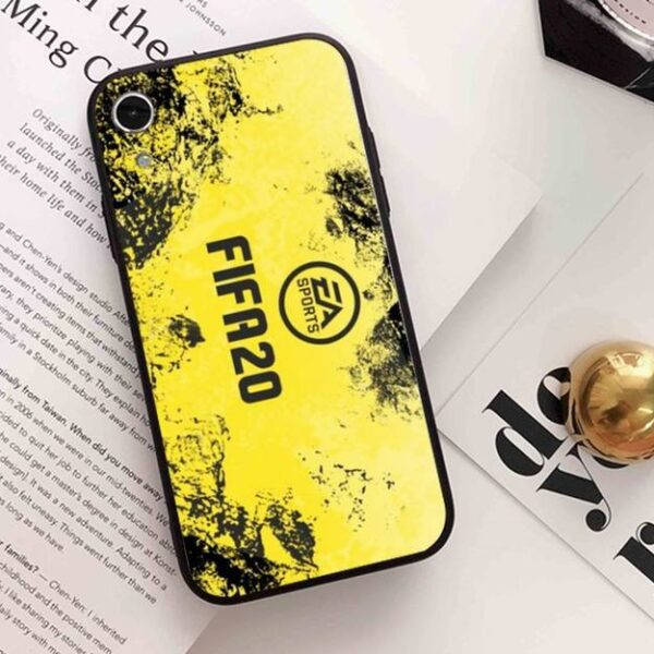 Coque Fifa Jaune iPhone
