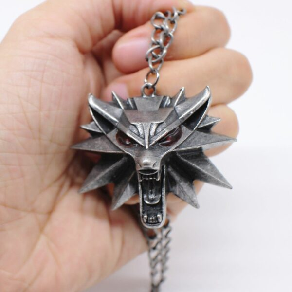 pendentif the witcher