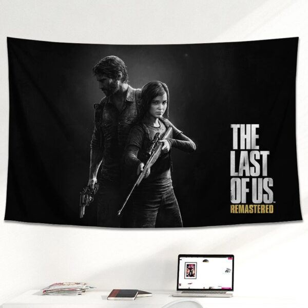 affiche drapeau the last of us