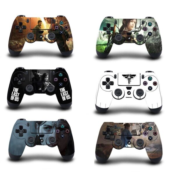 stickers manette ps4 the last of us