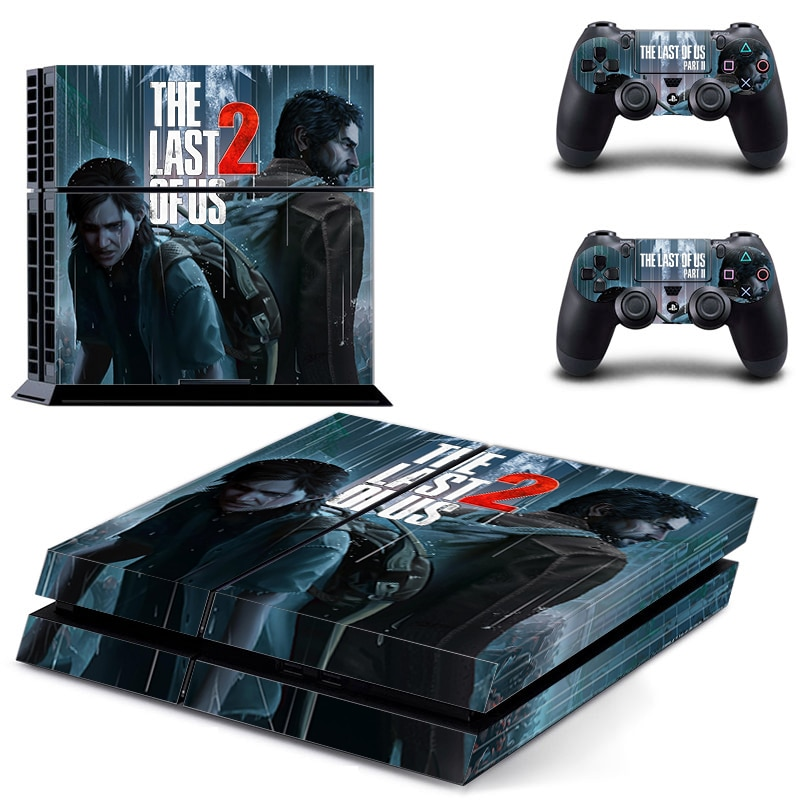 stickers ps4 the last of us